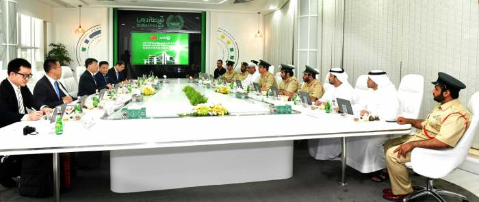 Dubai Police, Chinese Ministry of Public Security discuss Promoting Security Cooperation
