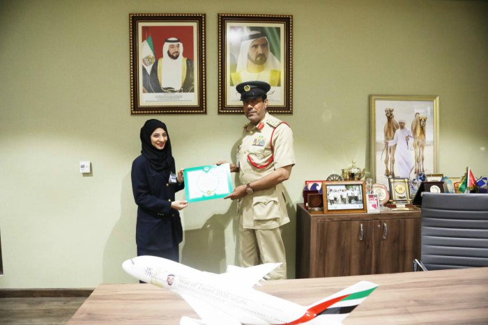 Dubai Police honour inspector for helping passenger deliver baby at airport